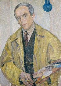 Carl Wilhelmson, självporträtt 1927