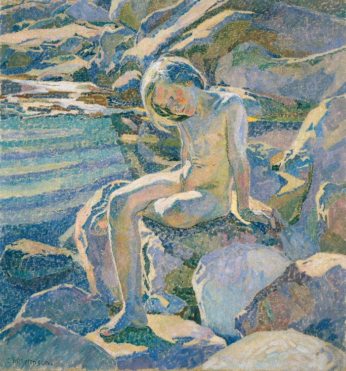 Carl Wilhelmson: Sommar i skären, 1915. Foto: Lars Engelhardt