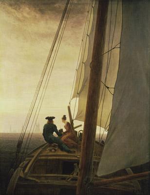 Caspar David Friedrich - På segelbåten