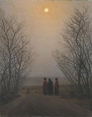 Caspar David Friedrich - Påskmorgon