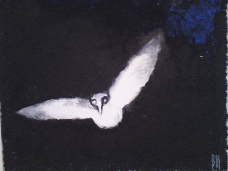 Berta Hansson. Sista fågeln, 1991