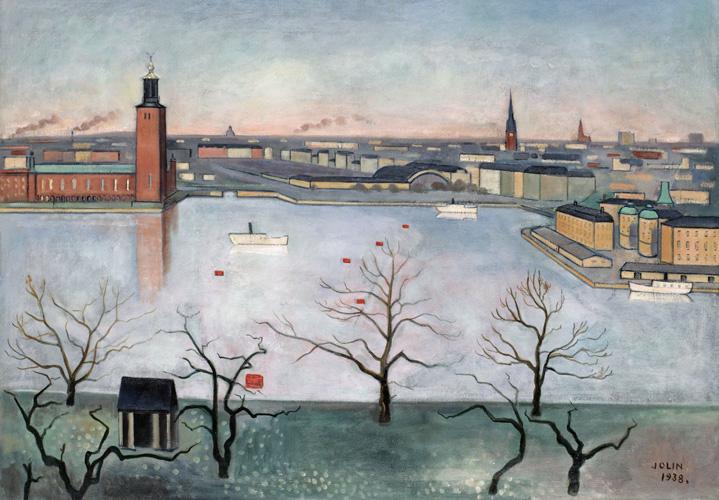 Einar Jolin: Utsikt från Söders höjder